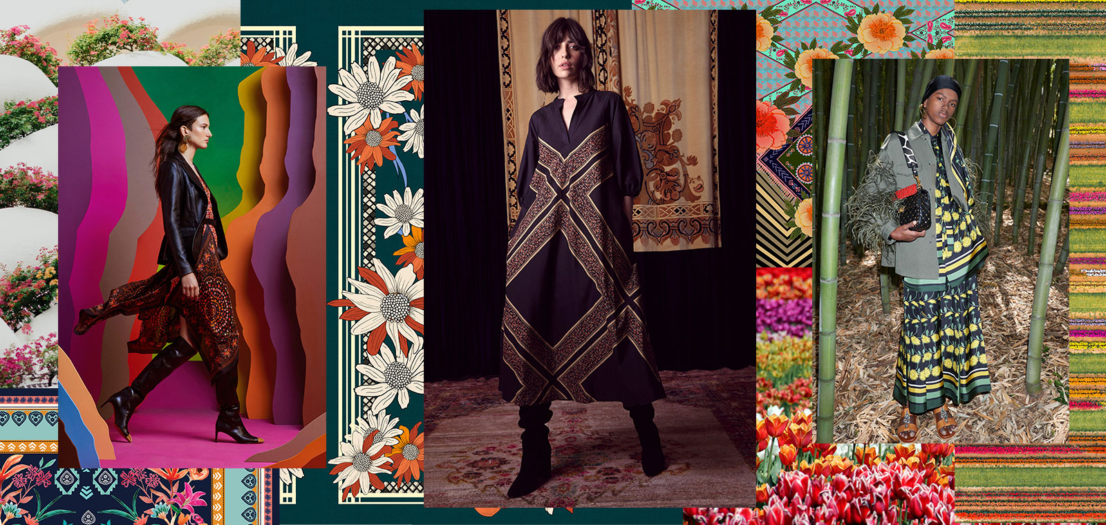 Autumn/Winter 20/21 Print Trend - Organised Florals