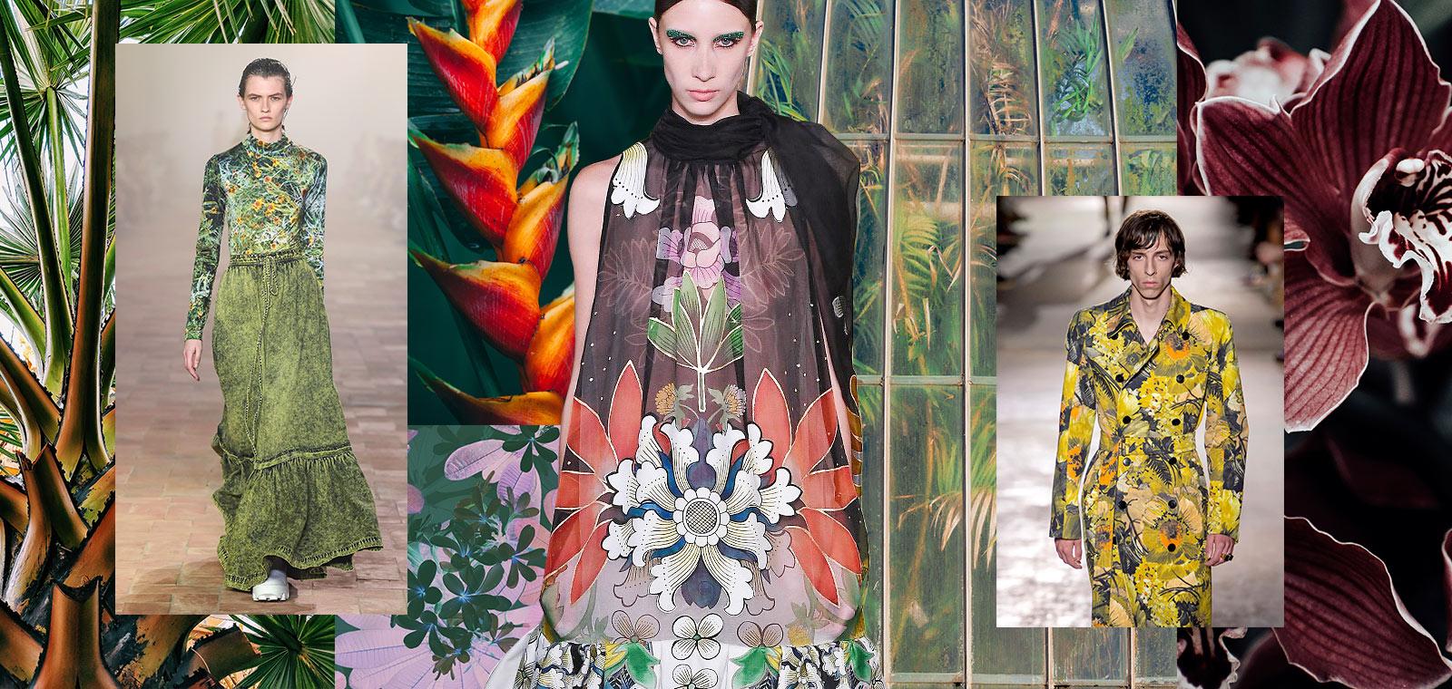 Autumn/Winter 20/21 Print Trend - Jungle Warrior - Patternbank