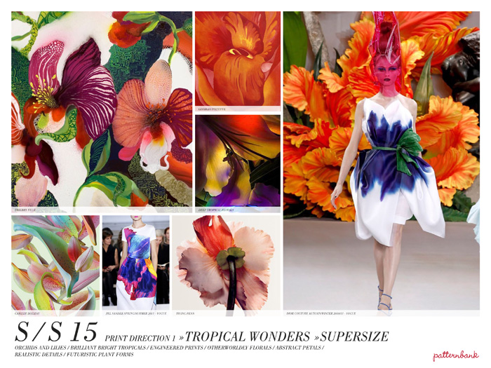 Spring Summer 2015 Colour Trends Trends For Spring/summer