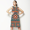626 Nouveau Tile Print (Dress)