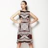 Tribal Geometric Placement (Dress)