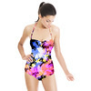 Tie Dye Floral (Swimsuit)