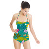 Tropical Fauna and Butterflies (Swimsuit)