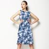 High Blue Blossom (Dress)