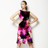 Abstract Floral Pattern in Repeat (Dress)
