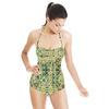 Green Mosaic Tile (Swimsuit)