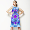 Psychedelic Aqua Print (Dress)