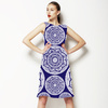 Indigo Mandala (Dress)