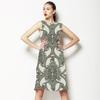 Green Paisley (Dress)