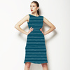 Bobbi 02 - Textured Stripe (Dress)
