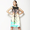"Painted Wall ""Earth Texture"" (Dress)"