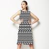 Mono Tribal Print (Dress)