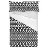 Mono Tribal Print (Bed)