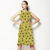 Poppy on Yellow (Dress)