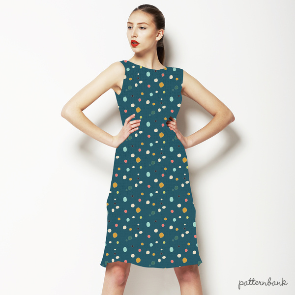 Oakridge Hand-Drawn Polka Dots