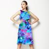 Orchid Mix Print (Dress)