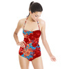 Red Flower Motif (Swimsuit)