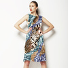 Abstract With Leopard Skins (Dress)