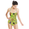 Flying Kites Seamless Design. (Swimsuit)