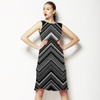 Chevron Spray (Dress)