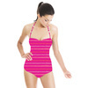Pink Lines (Swimsuit)
