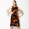 Paint Splashed Flowers (Dress)