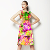 Abstract Tropical Floral (Dress)