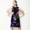 Blocky Floral (Dress)