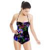Blocky Floral (Swimsuit)