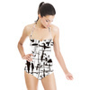 Ink Abstract (Swimsuit)