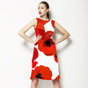 Hand Drawn Poppy Flowers (Dress)