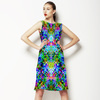 Rainbow Floral Interlace (Dress)