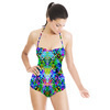 Rainbow Floral Interlace (Swimsuit)