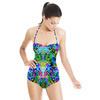 Rainbow Floral Interlace (Swimsuit)