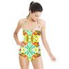 Floral Criss-Cross (Swimsuit)