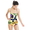 Large Scale Tropical Floral (Swimsuit)