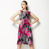Hot and Cold. Abstract Ikat Pattern for Active Wear (Dress)