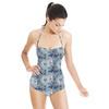 610 Floral Tiles (Swimsuit)