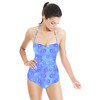 Faded Neon Starry Sky (Swimsuit)