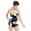597 Graphic Floral Print (Swimsuit)