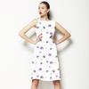 Violet Floral Repeat Pattern (Dress)