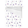 Violet Floral Repeat Pattern (Bed)