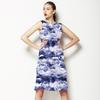 Indigo Waves (Dress)