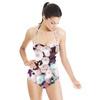 Soft Dahlia Florals (Swimsuit)