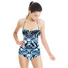Zebra With Plaid (Swimsuit)