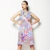 Floral Oriental Inpired (Dress)