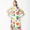 Fun, Whimsical and Colorful Fruit Design in Repeat (Dress)