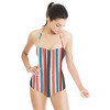 Soft Painted Stripe (Swimsuit)