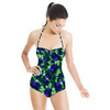 Tropical Leaves Pattern No.6 Caladium (Swimsuit)