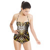 Snake Skins With Geometric (Swimsuit)